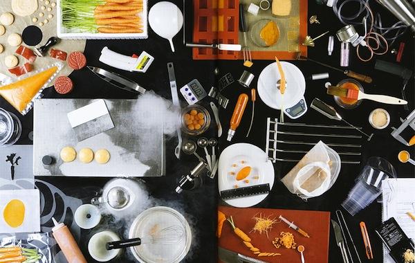gli attrezzi da cucina